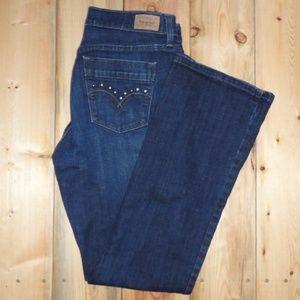 Levis 515 Dark Wash Bootcut Jeans Size 8
